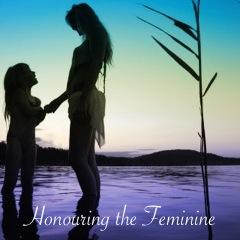 kiarah & I honouring the feminine