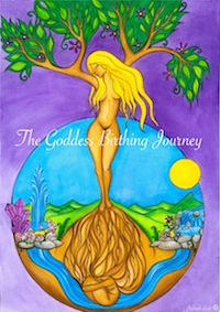 The Goddess Birthing Journey Small Copy