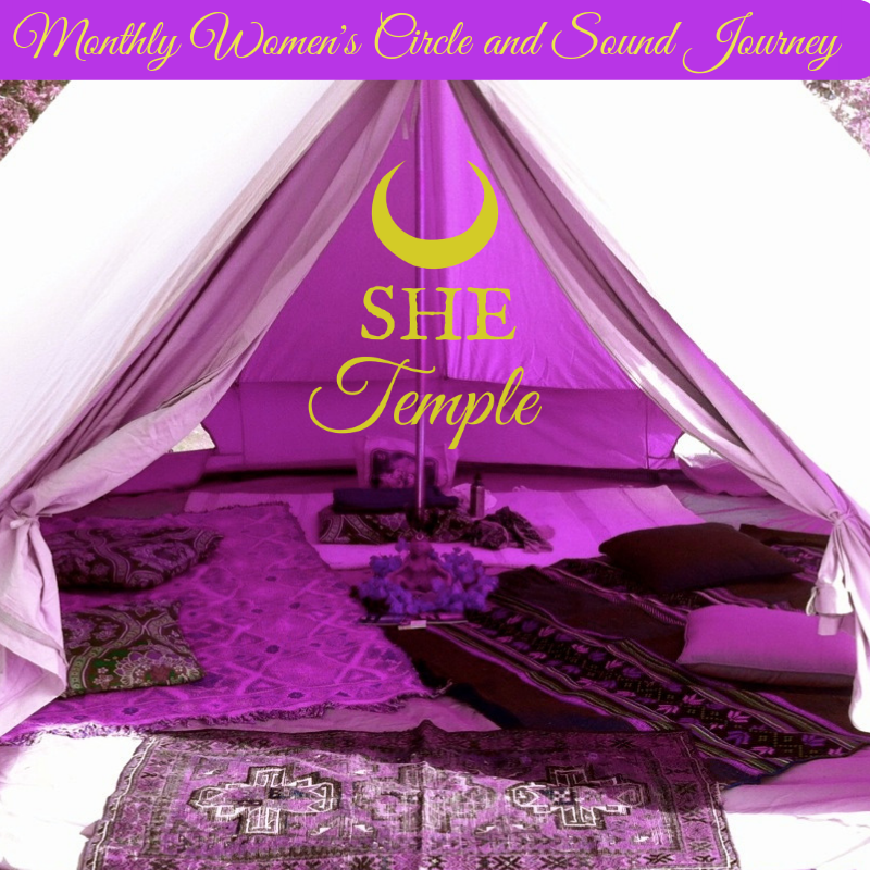 SHE Temple Women's Circle and Sound Journey