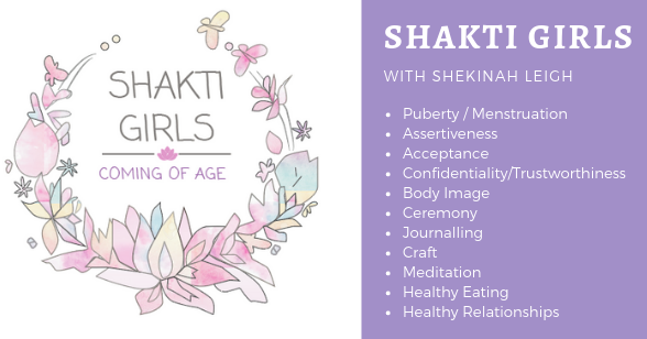 SHAKTI Girls 2-Day 'Coming of Age' Program
