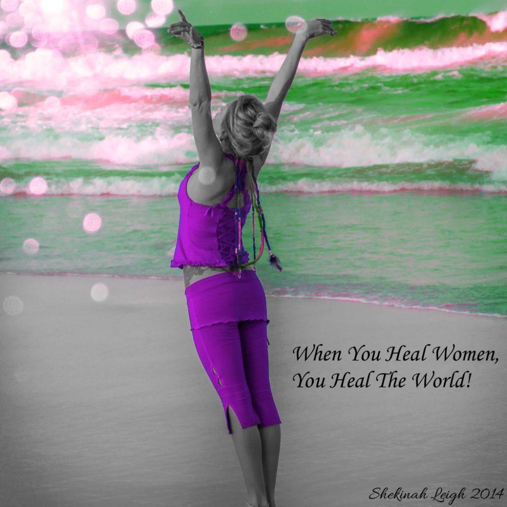 When you heal women