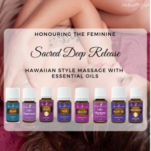 Sacred Deep Release - Kahuna Massage and Essential Oils