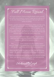 Full Moon in Cancer Ritual