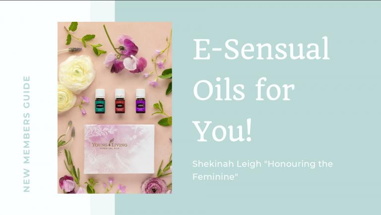 Shekinah Leigh E-Sensual Oils