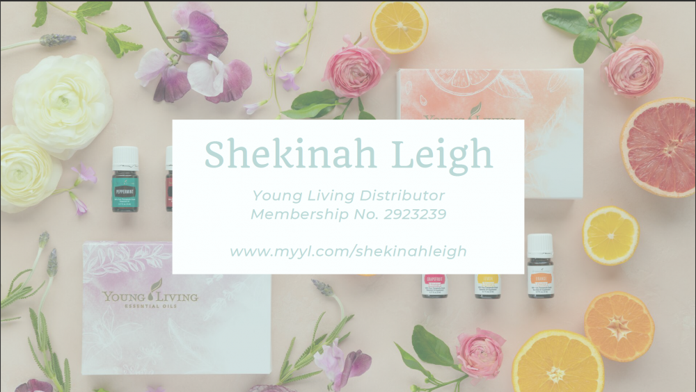 Shekinah Leigh - Essential Oils