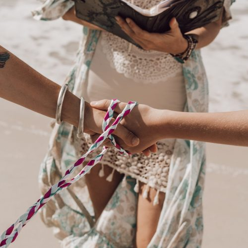 Shekinah Leigh Beach Wedding