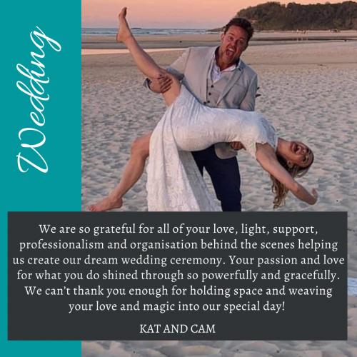 Kat and Cam Wedding Testimonial