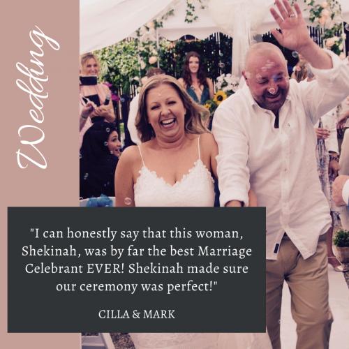 Wedding Review for Shekinah Leigh